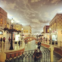 Photo taken at Villaggio Mall by Mark Anthony C. on 2/16/2013