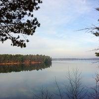 Photo taken at Round Lake by Miss Kelly J. on 11/21/2012