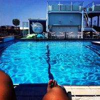 Photo taken at Poseidon Hotel by Ada P. on 7/14/2013