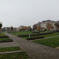 Photo taken at Debreceni Egyetem Kassai Campus by Nù T. on 10/16/2013