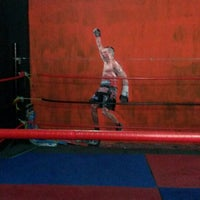 Photo taken at Ojo De Tigre Box y Muay Thai by Mauricio M. on 4/9/2015