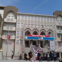 Photo taken at Bilge Kağan İlkokulu ve Ortaokulu by Tuğba E. on 4/23/2014