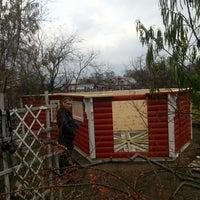 Photo taken at строим беседку by Алексей Ц. on 11/2/2013
