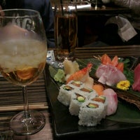 Photo taken at Dozo Sushi by Olivier P. on 1/1/2013