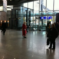 Photo taken at Lufthansa Check-in by Jörg B. on 12/6/2012