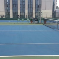 Photo taken at Swiss Otel Macka Tenis Klubu by Burak C. on 6/4/2014