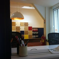 Photo taken at Desigual Paris Office by Marion L. on 10/3/2012