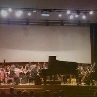 Photo taken at Hacettepe Üniversitesi Kültür Merkezi M Salonu by Latife S. on 4/21/2017