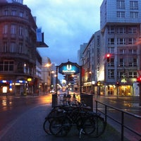 Photo taken at H Kochstr./Checkpoint Charlie by Franz C. on 6/14/2013
