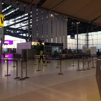 """Photo taken at Check-In Row """"W"""" by Natdagan P. on 3/30/2014"""