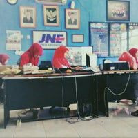 Photo taken at JNE Indramayu by Prio S. on 3/1/2016