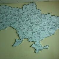 Photo taken at Укрсиббанк by Olena V. on 4/1/2014