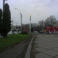 Photo taken at Зупинка «McDonald's» by Марта Ж. on 11/16/2013