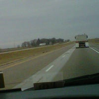 Photo taken at I-35 by Dustin on 12/7/2012