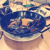 Снимок сделан в La Mar Blava пользователем Natalie 7/21/2014