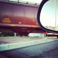 Photo taken at Hemphill train tracks by Patricio B. on 9/25/2012