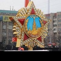 Photo taken at Площадь Победы by Darina K. on 6/5/2015