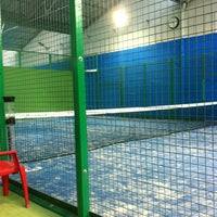 Photo taken at Padel Top by Laura Z. on 5/10/2014