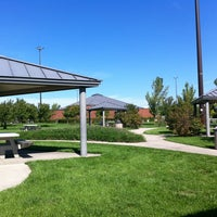 Photo taken at Farm Land Rest Area - Westbound by Eric B. on 9/16/2012