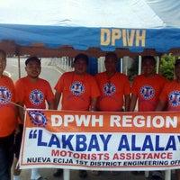 Photo taken at DPWH Nueva Ecija 1st DEO by roel m. on 3/27/2016