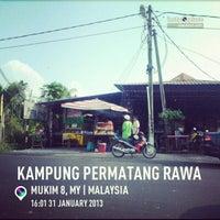 Photo taken at Kampung Permatang Rawa by Baizura S. on 1/31/2013