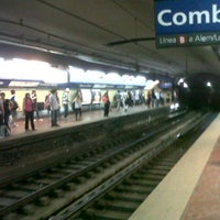 Photo taken at Estación Diagonal Norte [Línea C] by Luciano S. on 11/10/2012
