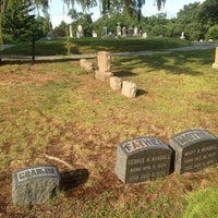 Photo taken at Evergreen Cemetery by Sergey I. on 7/21/2014