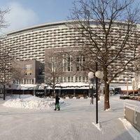 Das Foto wurde bei Sheraton Munich Arabellapark Hotel von Sergey I. am 2/23/2013 aufgenommen