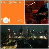 Photo taken at Prego by Yuki C. on 8/29/2014
