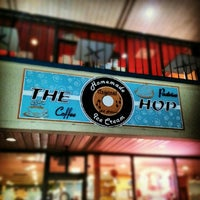 Photo taken at The Hop Ice Cream Cafe by Ask Asheville h. on 3/24/2013