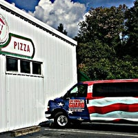Photo taken at Frank's Roman Pizza by Ask Asheville h. on 10/1/2014