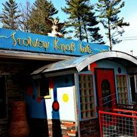 Photo taken at Stoney Knob Cafe by Ask Asheville h. on 3/25/2014