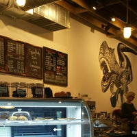Photo taken at Odd's Cafe by Ask Asheville h. on 1/11/2015