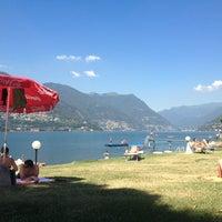 Photo taken at Lido di Villa Geno by Lukas on 8/2/2013