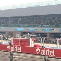 Photo taken at Buddh International Circuit by Karan M. on 10/26/2012