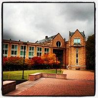 Photo taken at UW: Allen Library by Fernando G. on 10/25/2012