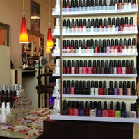 Photo taken at Luxury Nails and Spa by nia h. on 4/19/2013