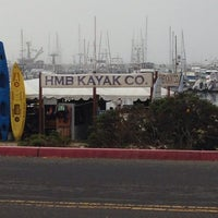 Photo taken at Half Moon Bay Kayak Co. by Bobby R. on 9/13/2015