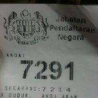 Photo taken at Jabatan Pendaftaran Negara by Ezad R. on 2/25/2013