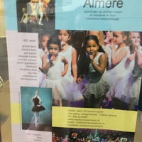 Photo taken at Balletschool Almere by Runja on 11/11/2016