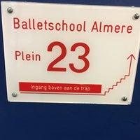 Photo taken at Balletschool Almere by Runja on 12/22/2017