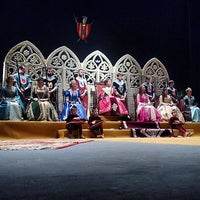 Photo taken at Teatre Principal by Sergio N. on 1/30/2015