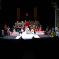 Photo taken at Teatre Principal by Sergio N. on 1/22/2016