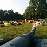 Photo taken at Palaissommer by Stefan P. on 8/6/2014