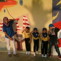 Photo taken at Tabika perpaduan permatang badak by Ariff H. on 9/26/2014