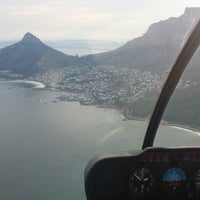Photo taken at Helicopters CapeTown by Nigel D. on 9/13/2015