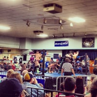 Photo taken at South Broadway Athletic Club by Crim Dolla C. on 1/12/2014