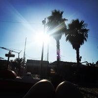 Photo taken at Spiaggia San Benedetto Del Tronto by LaCasiCris on 8/27/2016