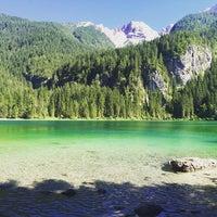 Photo taken at Lago di Tovel by LaCasiCris on 7/16/2016