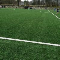 Photo taken at Preston Athletic Fields & Park by Jacob G. on 12/5/2015